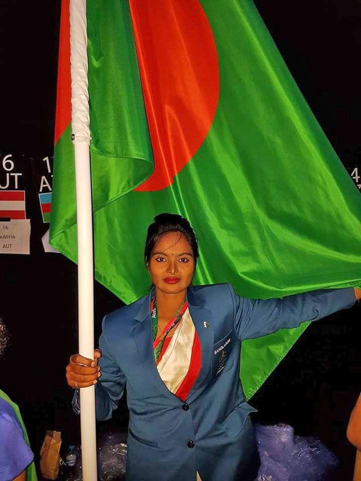 Shamoli Says Carrying Flag A Heartfelt Experience Heartfelt Carry On Sayings
