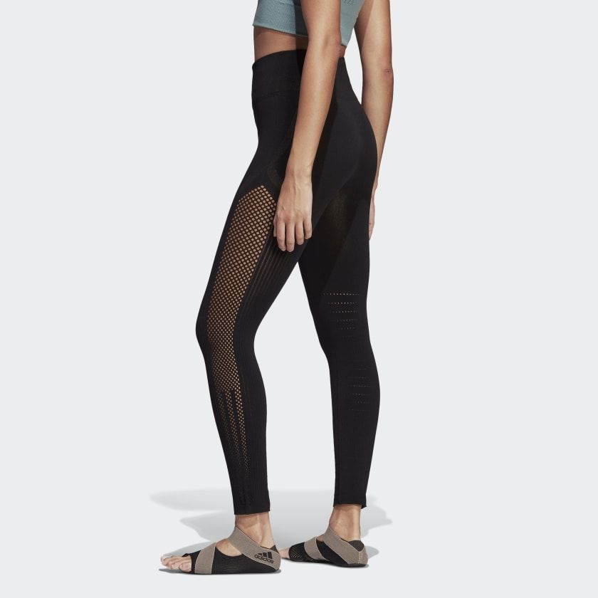 adidas Warp Knit High-Rise 7/8 Tights