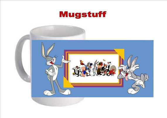 Personalised Picture Mug Custom Made with Bugs Bunny by Mugstuff, £5.00