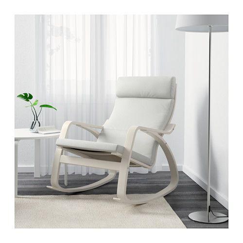 Schommelstoel Wit Babykamer.Ikea Nederland Baby Ikea Poang Chair Rocking Chair Nursery En