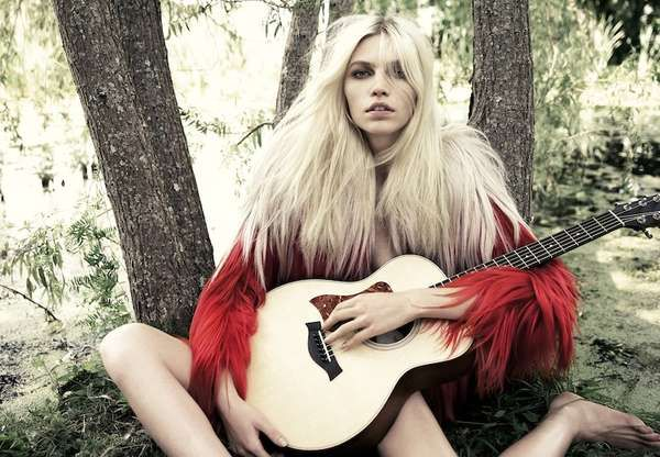 The Aline Weber for Muse Fall 2011 Editorial is Stunningly Serene #photoshoots #fashion trendhunter.com