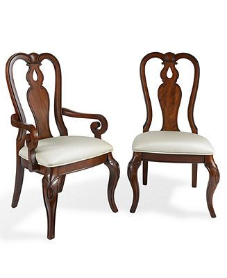 Queen Anne Furniture Cabrio Legs Dining Chairs Queen Anne Furniture Closeout Furniture