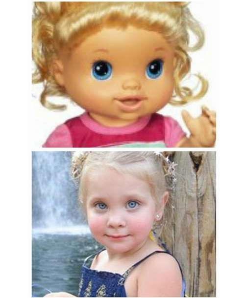 Kids look just like their dolls.Share this on Facebook?Photo via Facebook - Mom.me