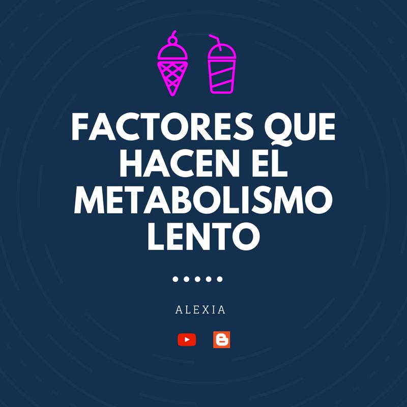 Como se que metabolismo tengo