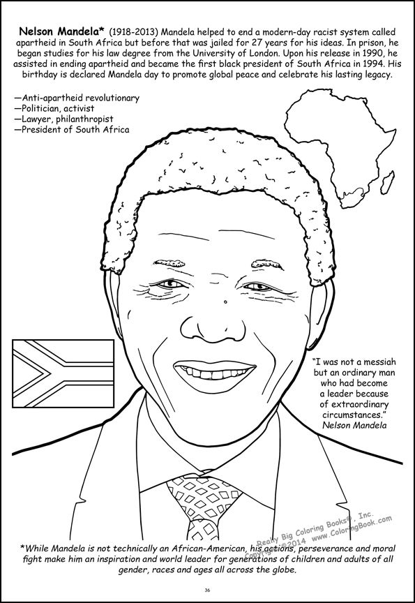 f african american coloring pages - photo #30