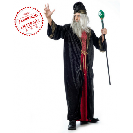 2cacd3914 Disfraz de Brujo Premium para Hombre | DISFRAZES | Disfraz de bruja ...