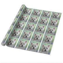 WESTIE WRAPPING PAPER