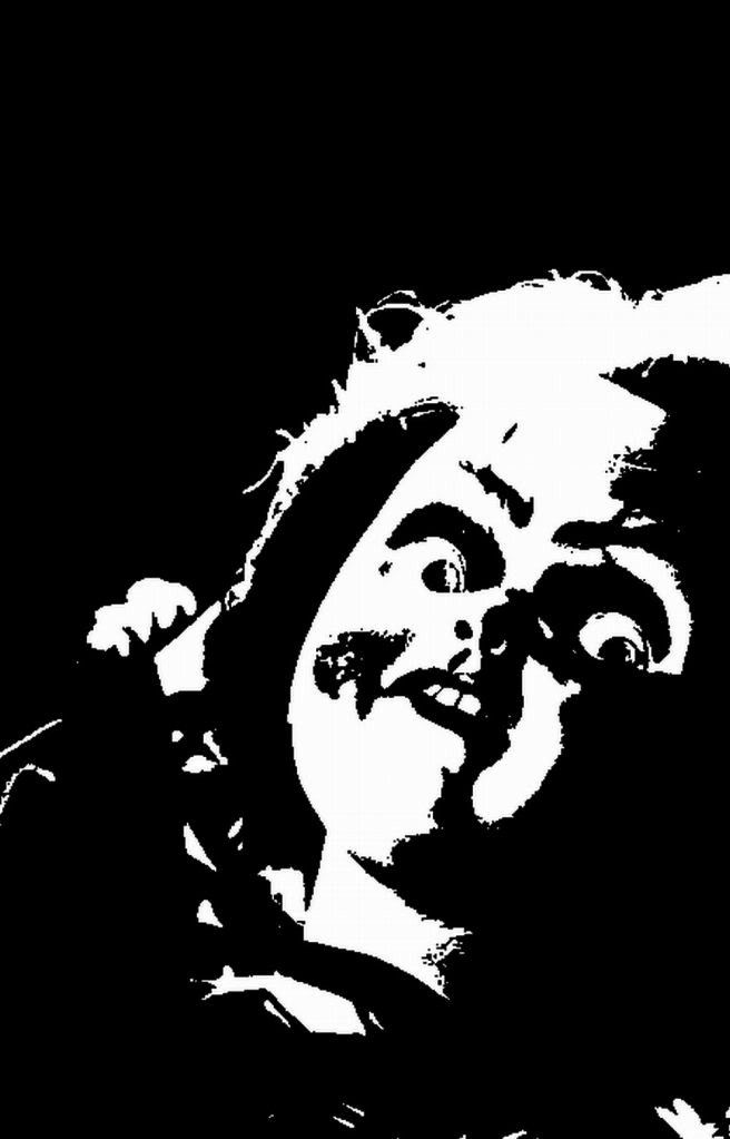 Chucky Clipart Black And White: Pin By Jenifer Cline On Eng: Silhouettes