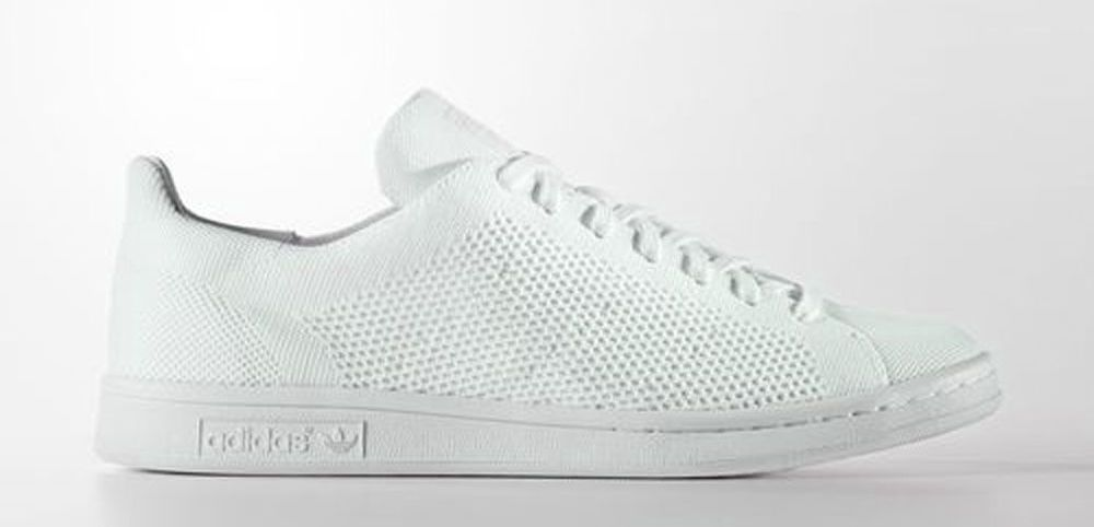 Adidas Originals Men's STAN SMITH PK(Primeknit) Shoes White