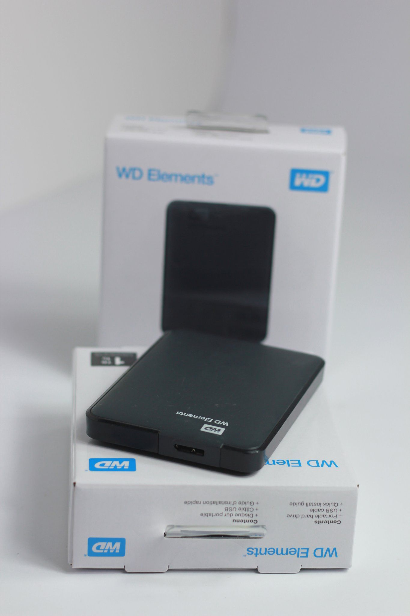 WD Elements Portable Hard Disk 1TB | Optimum Copy Center