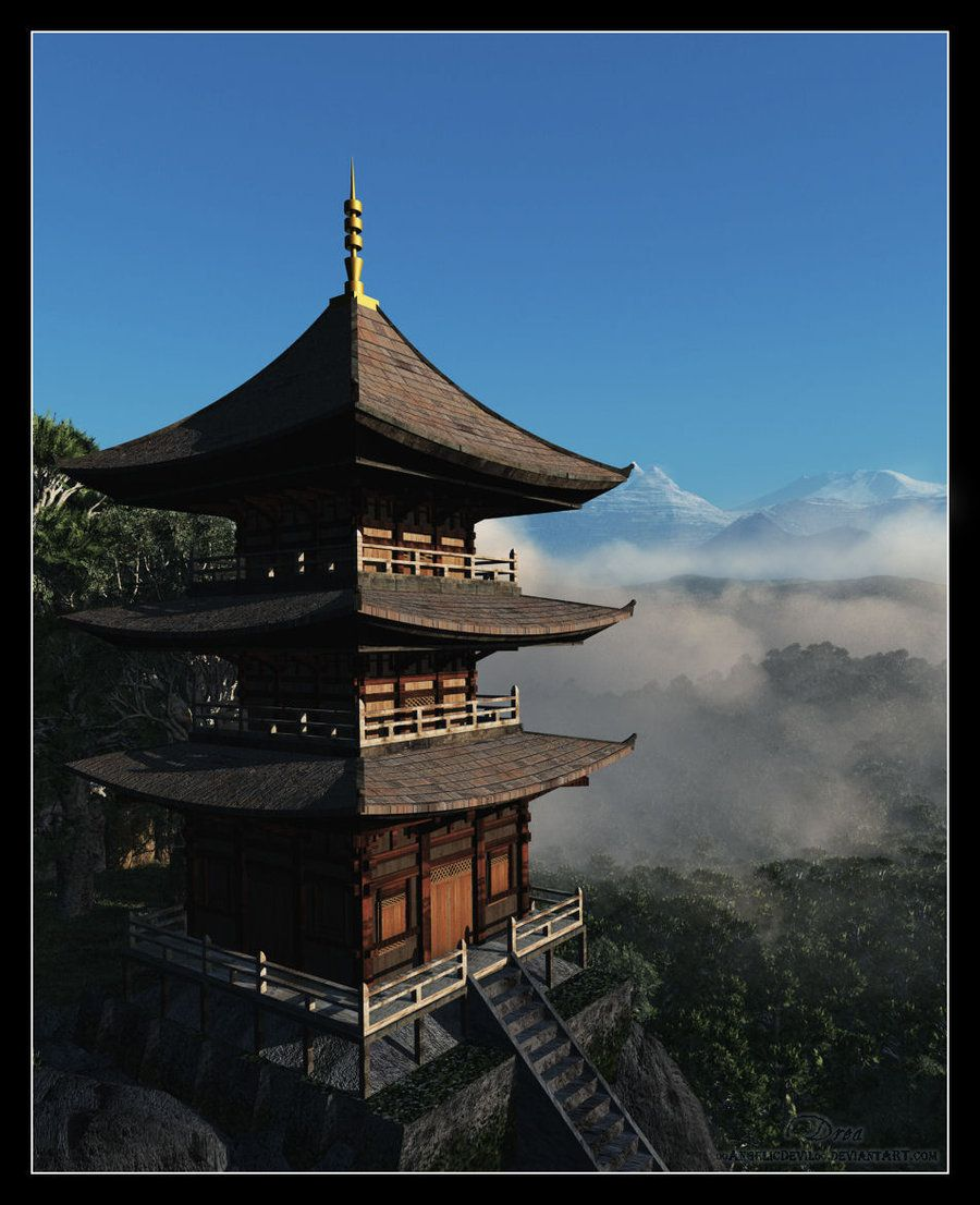 ..pagoda.. by 00AngelicDevil00 on DeviantArt