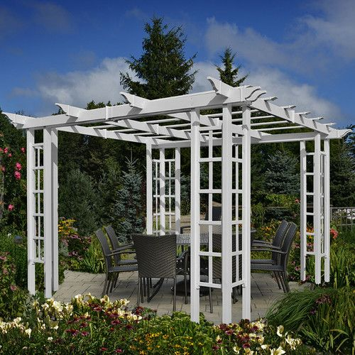 Found it at Wayfair - Windshire 10 Ft. W x 10 Ft. D Pergola