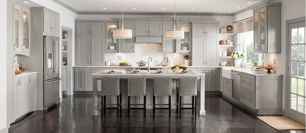 Ideal Kitchen Look No Apron Sink Cabinet Color And Style Are