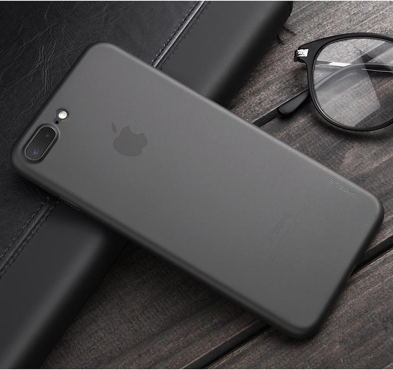 Original Phone Ultra Thin Cute Translucent Case For Iphone Iphone Iphone 7 Black Matte Iphone 7
