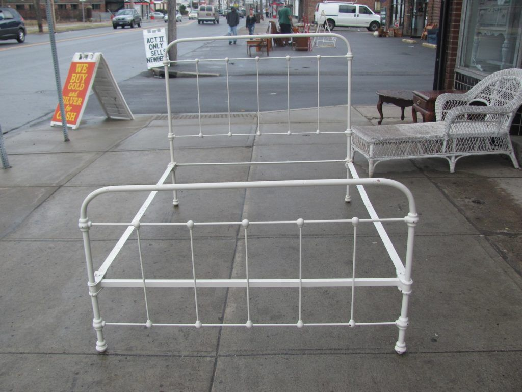 Rod Iron Bed Frames Antique Iron Bed Iron Bed Frame Wrought