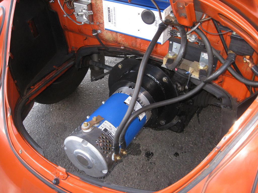 VW Beetle Electric Conversion   Flickr - Photo Sharing!