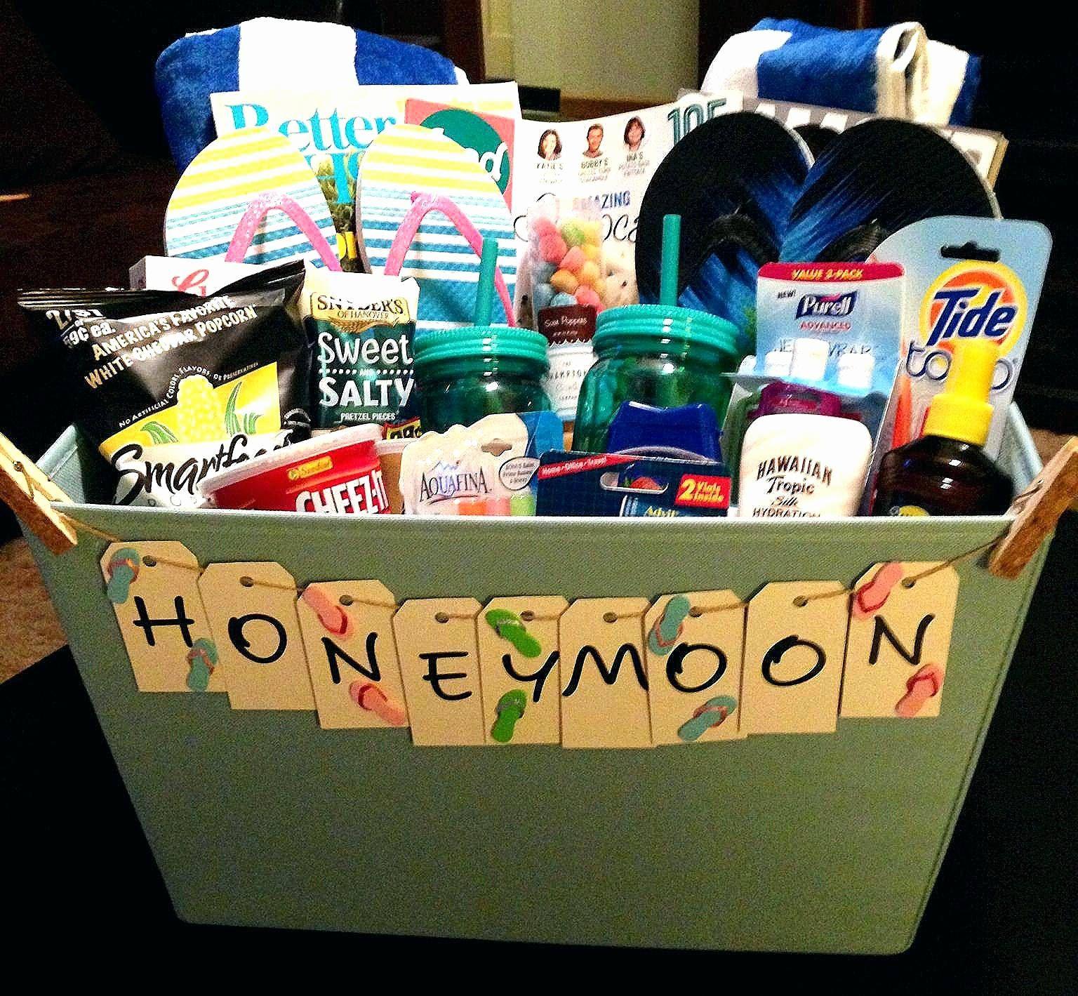 Favorite basket raffle ideas options honeymoon gift