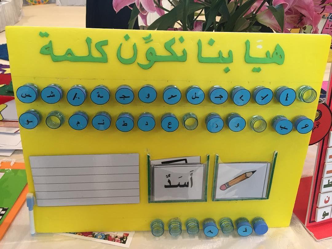 المركز الثالث وإبداعات روضة سعد بن ابي وقاص Saadbinabiwaqqas Kg الف مبروك Learn Arabic Alphabet Arabic Alphabet For Kids Learning Arabic