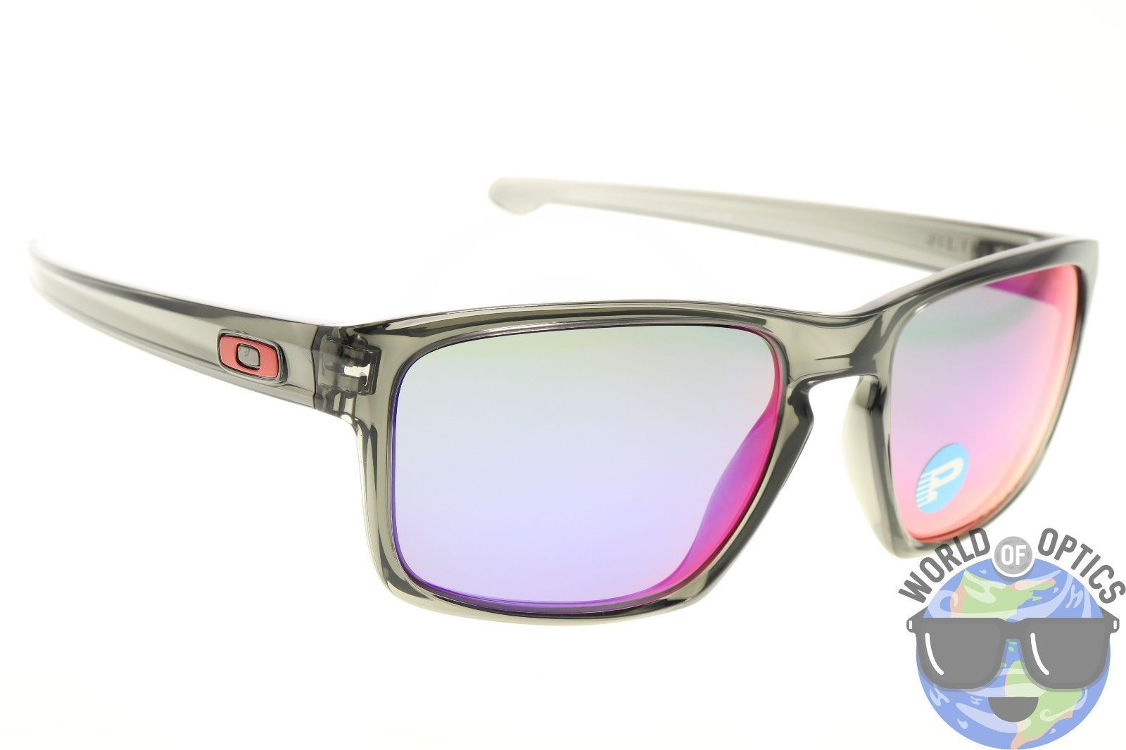 oakley sliver red iridium polarized