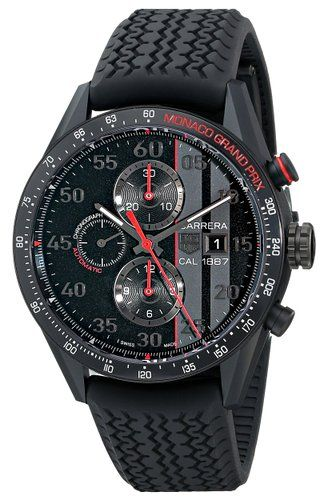 TAG Heuer Carrera Calibre 1887 Chronograph Monaco Grand Prix Limited  Edition CAR2A83.FT6033 5aecab2f49
