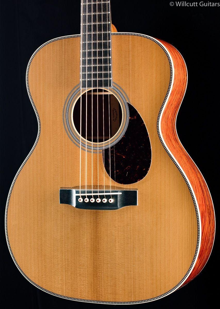 Guitars & Martin Custom Shop OM-28 Cocobolo VTS (289) | Om Acoustic guitar ...