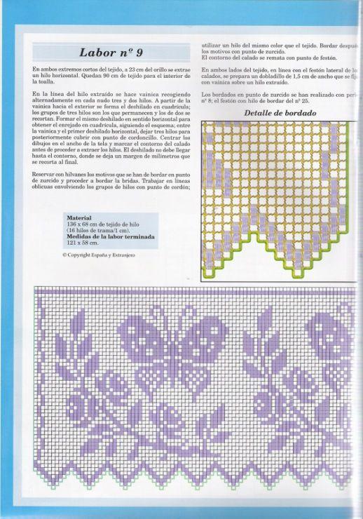 Gallery.ru / Foto n º 20 - 10 - logopedd | filet crochet | Pinterest ...