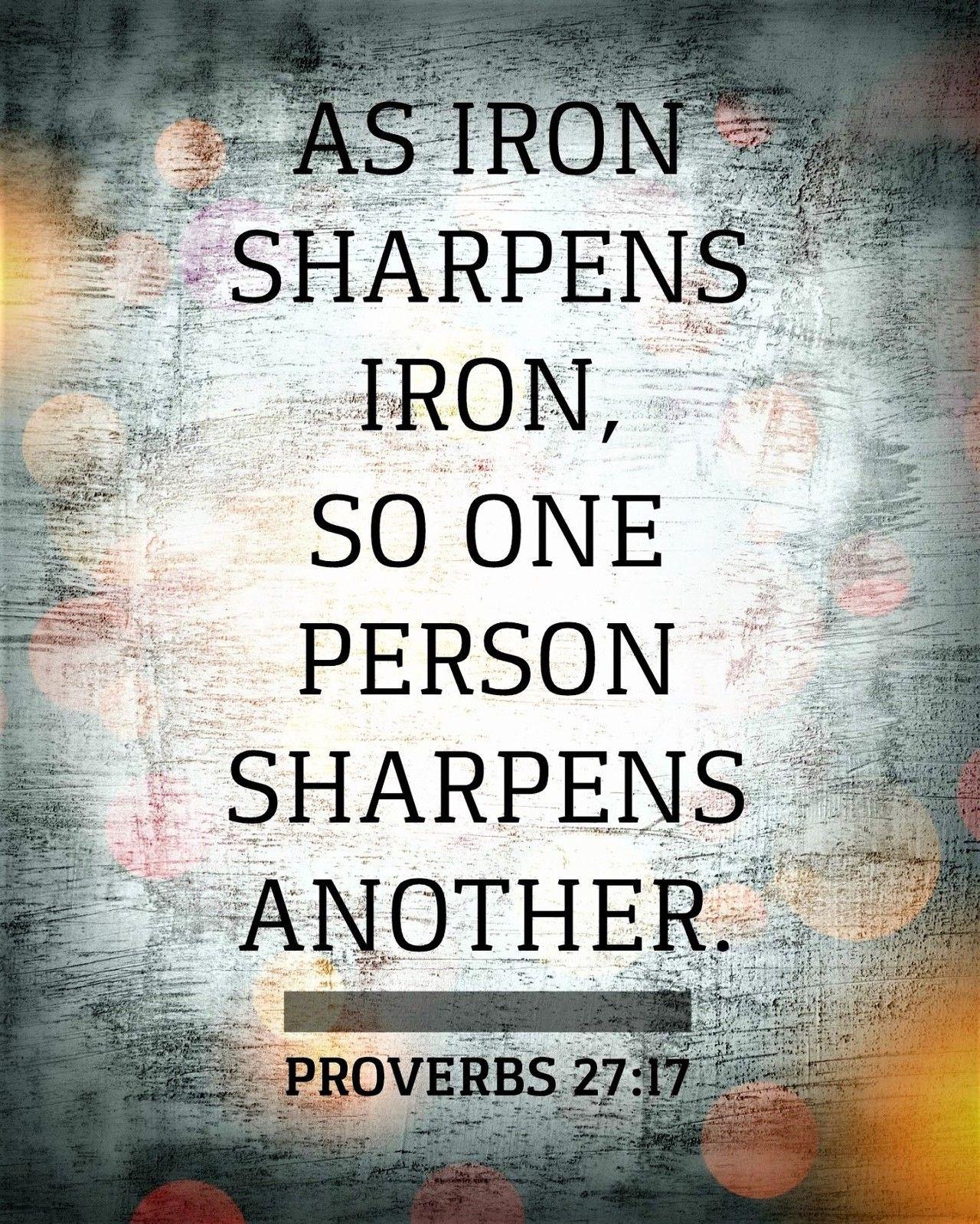 Niv Proverbs 27 17 – samyysandra.com