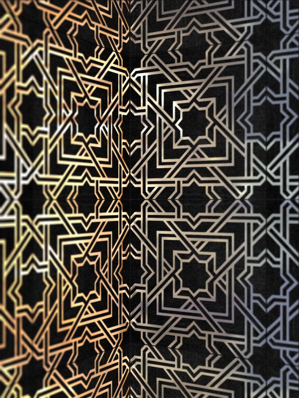 modern tiles 231 Hybrid Between a Wallpaper and a Tile Pattern ...