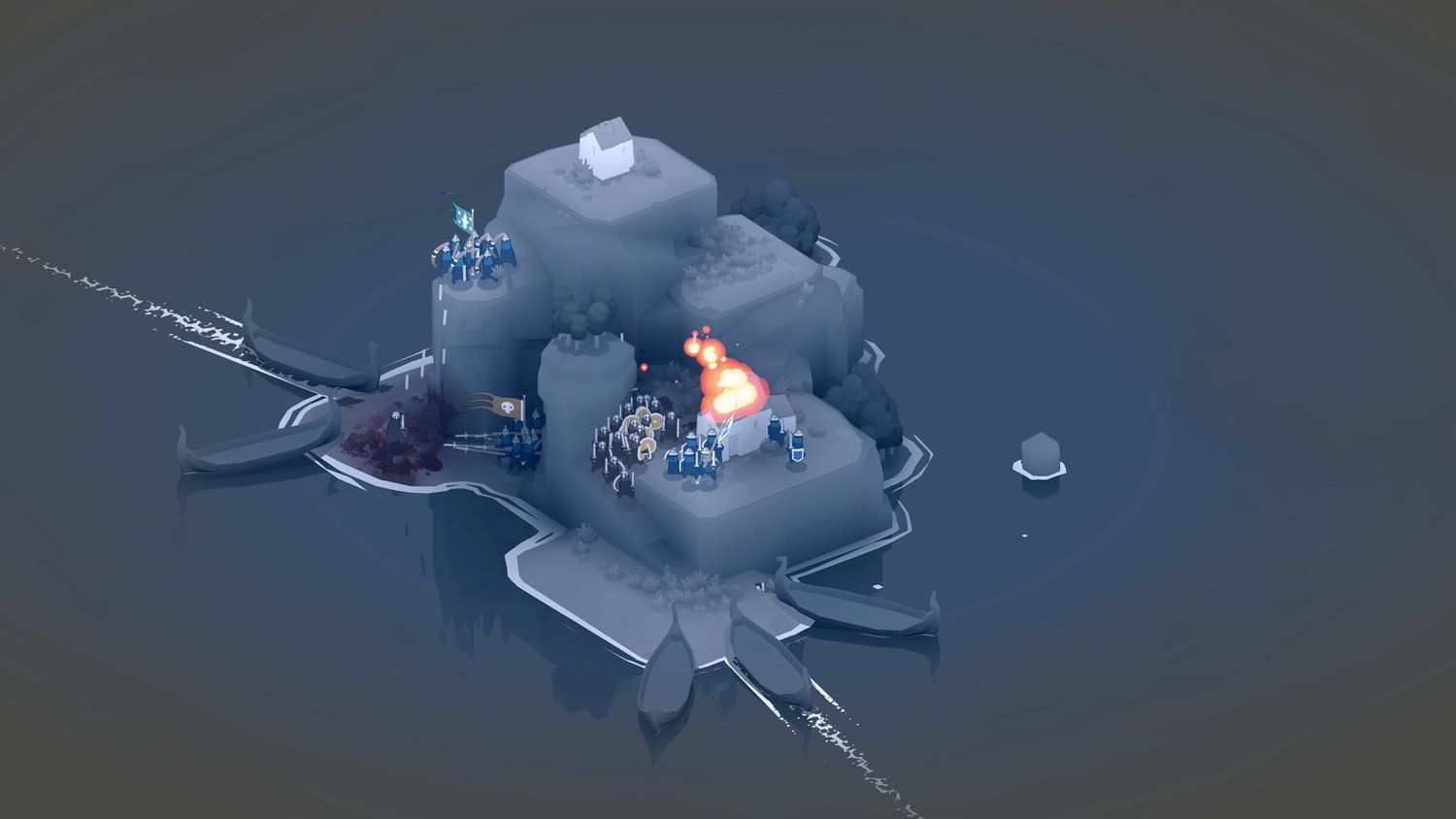 Bad North Real time strategy, Tower defense, Game art