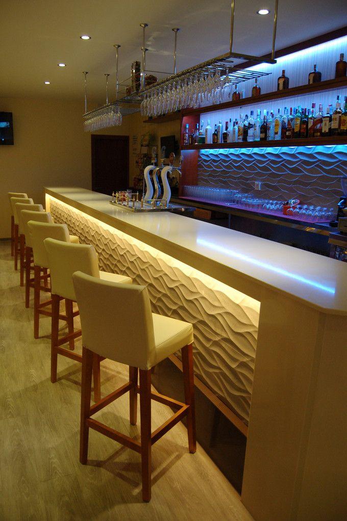 Galer a fotogr fica de nuestros ltimos montajes de barras de bar dise o obras - Barras de bar de diseno ...