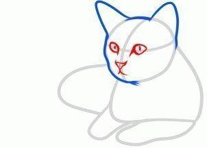 Kinderbilder fürs kinderzimmer katze  Katze zeichnen lernen-dekoking-com-6 | Haus | Pinterest | Katze ...