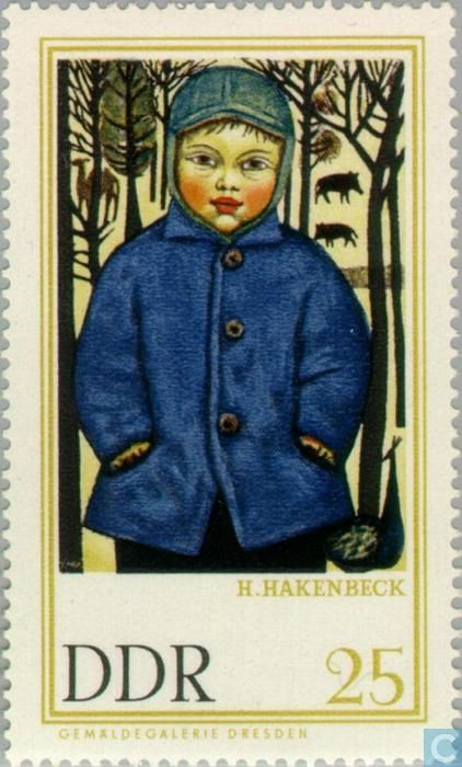 Postage Stamps - GDR - Paintings