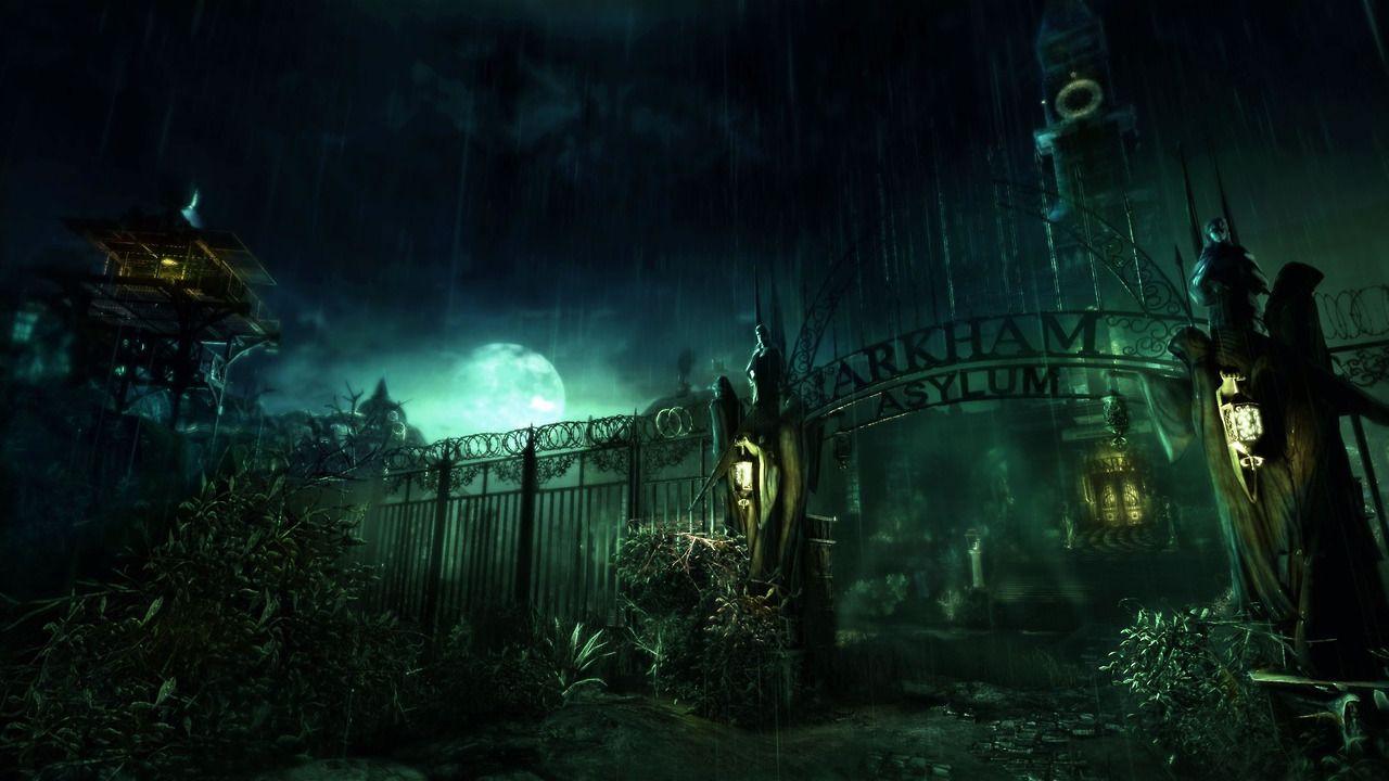 Batman Arkham Asylum Batman Wallpaper