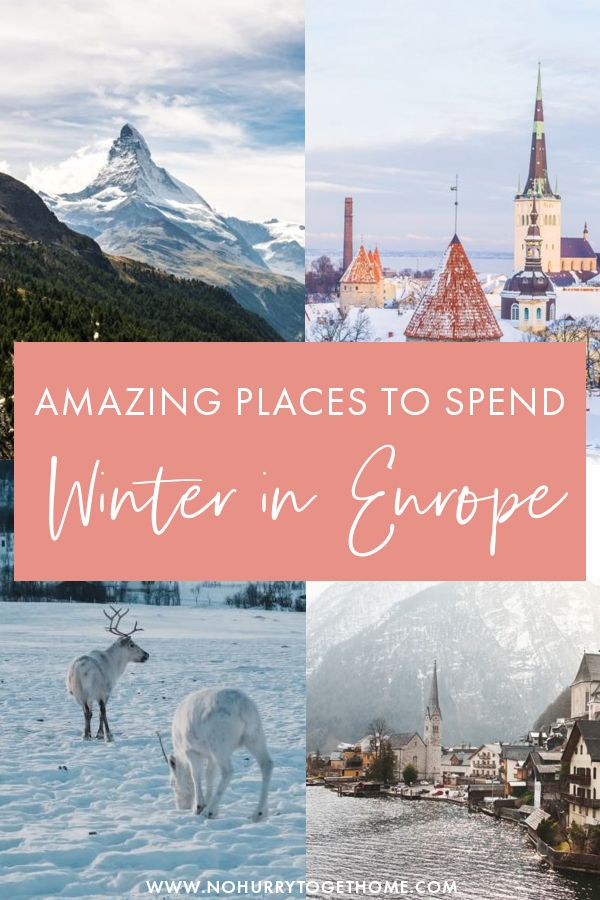 Wondering where to go in Europe in Winter? Europe has so many amazing destinations to visit in Winter if you're looking for a special road trip or weekend getaway. On this post, I share some of the best winter destinations in Europe that you can't miss if you want snow, culture, adventures, or just a cozy weekend getaway in the winter! #Europe