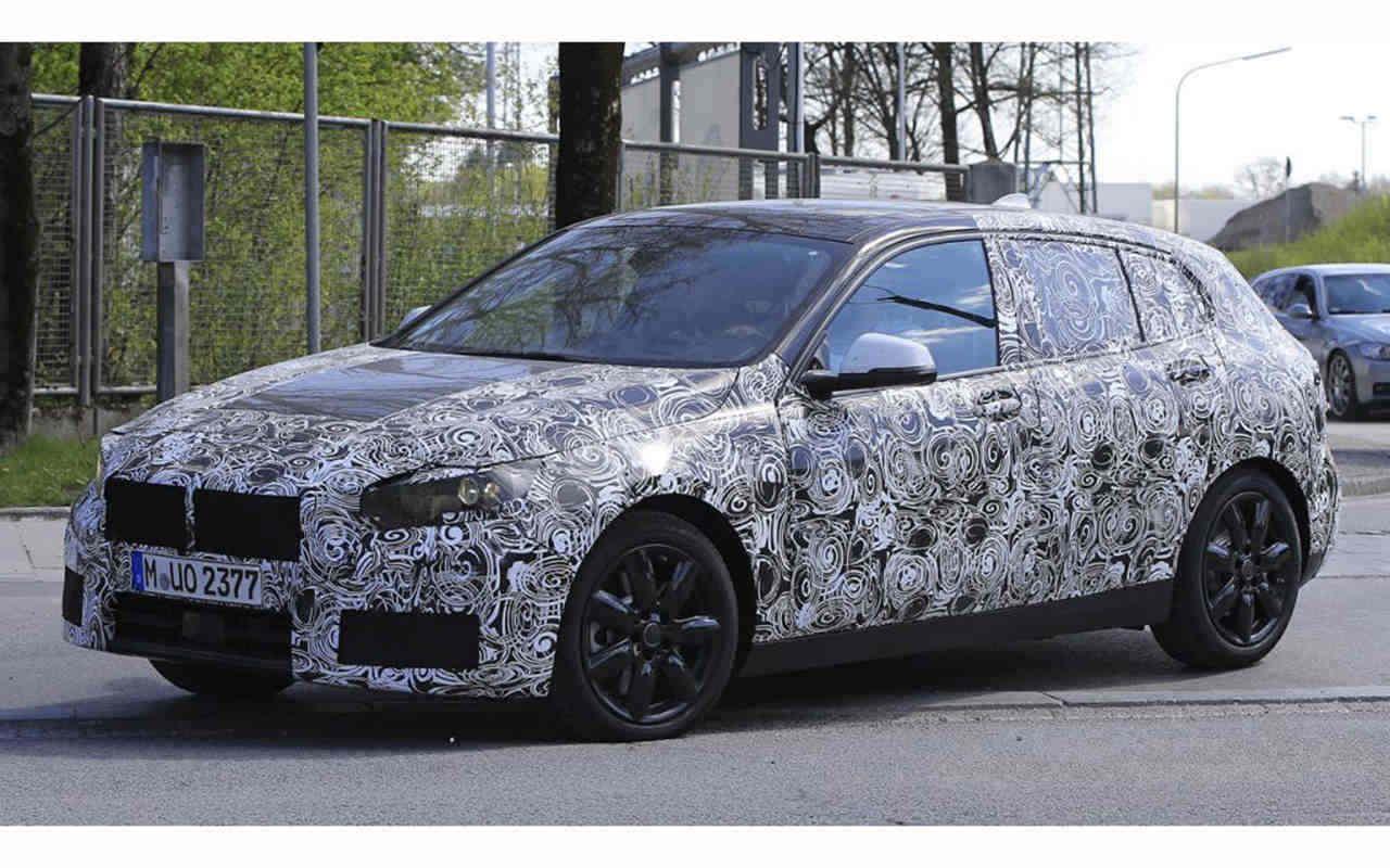 2019 bmw 1 series first spy shots of next bmw sedan hatchback it is