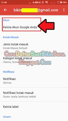Mau tahu cara mengganti password Gmail yang lupa di Hp Android ...