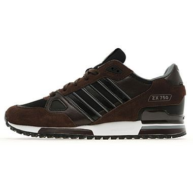 Adidas ZX 750 #brown & #silver | Adidas fashion sneakers