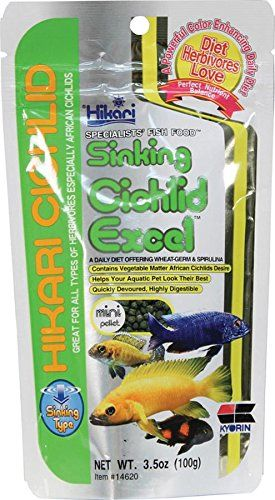 My African Cichlids Yellow Labs Love These Will Be Sticking With This Brand For Sure Just Be Careful When Ordering As Cichlids Fish Recipes Dry Cat Food