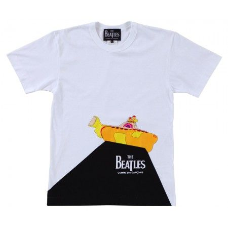 2d007b9c4 Beatles CDG T-Shirt (White) | Beatles CDG | Comme Des Garçons | Fashion