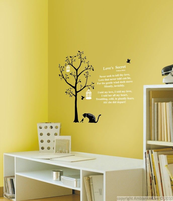 stickers arbre et chats | ambiance-sticker.com | Galerie Stickers ...