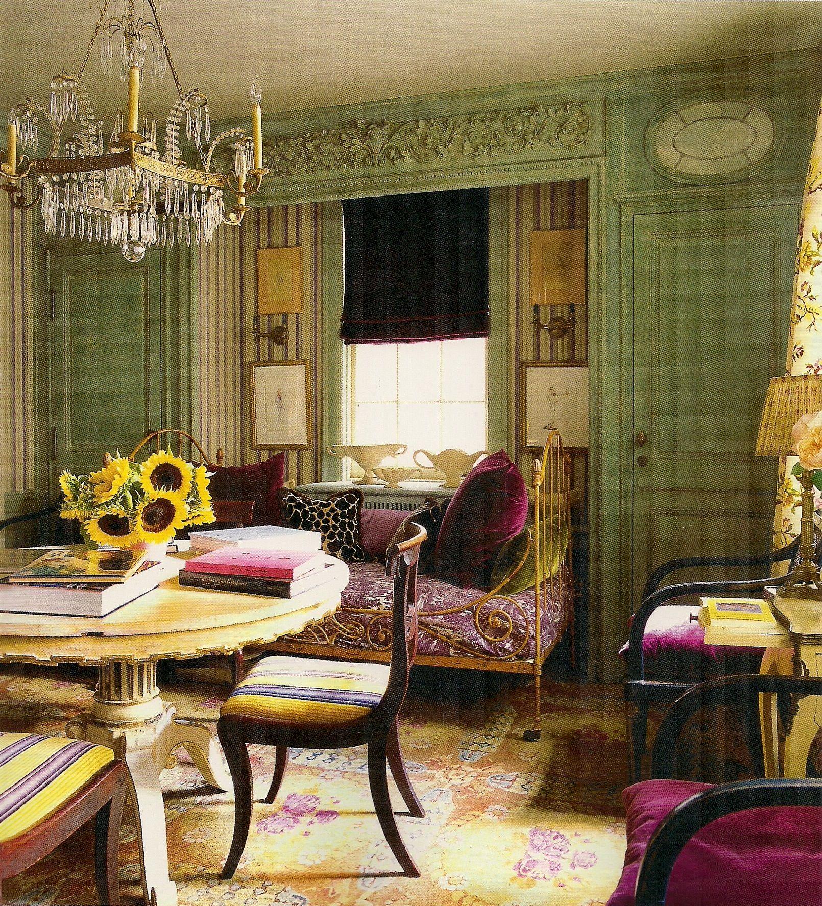 Manhattan New York Studio Apartments: Manhattan Apartment Of Hamish Bowles-Vogue's International