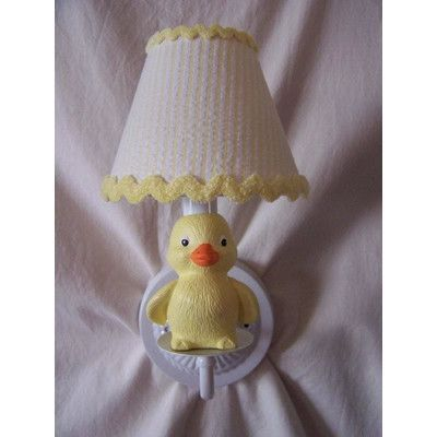 Silly Bear Rubber Duckie Wall Sconce Shade: Duck. Duck. Goose!