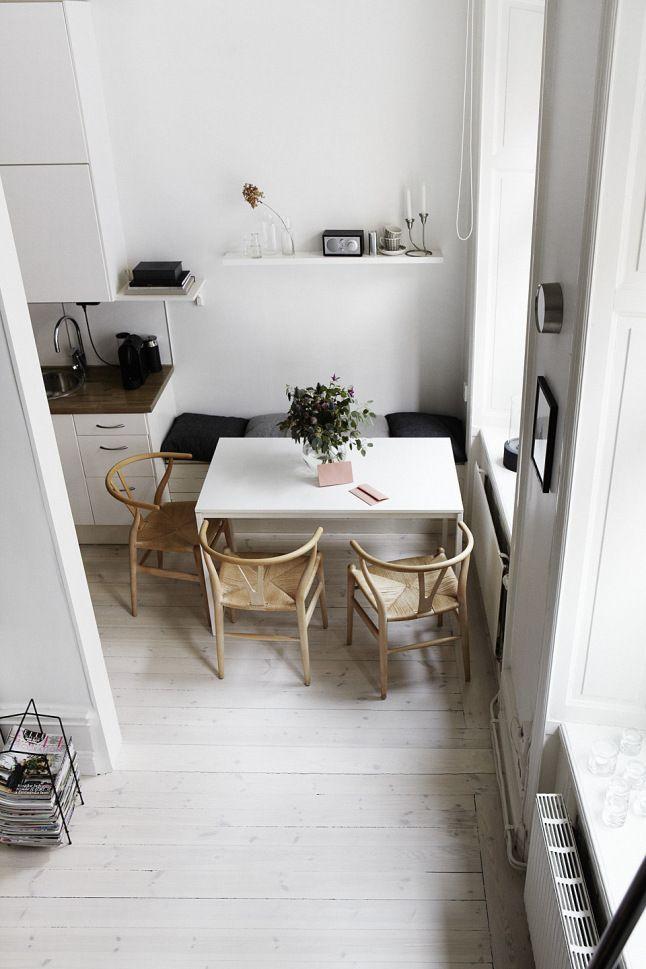 Les petites surfaces du jour  un lit en hauteur Banquette cuisine - Hauteur Table Salle A Manger