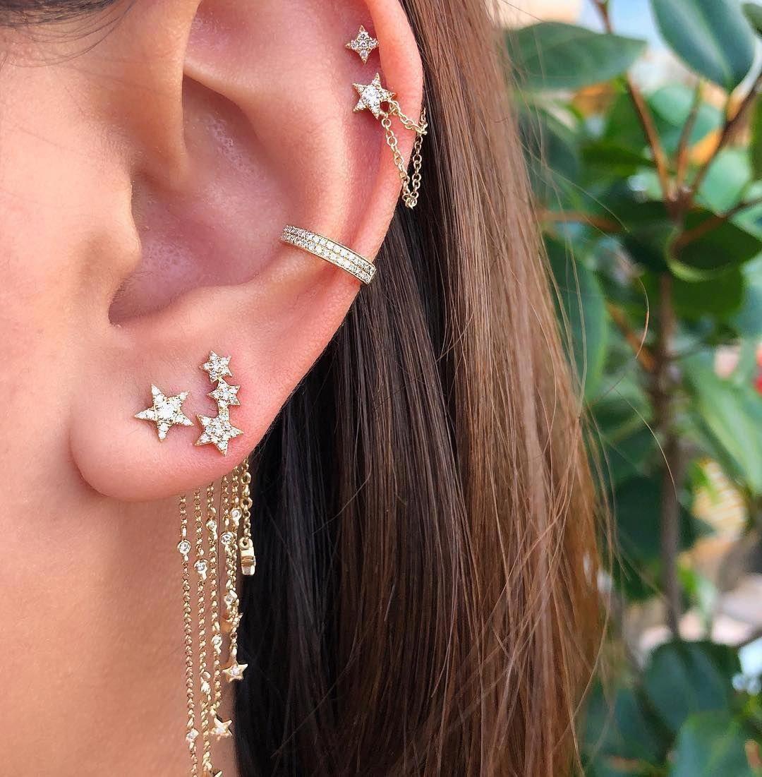 Silver Tragus Piercing - Custom Jewelry Ideas