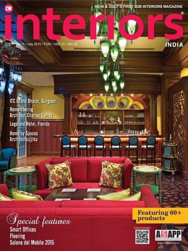Cw Interiors July 2015 Issue ITC Grand Bharat Gurgaon