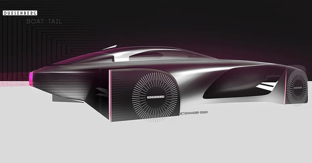#Duesenberg Boat Tail concept by Renault designer Ramandeep Singh (@rd.ramansingh) • Join the #DuesenbergDesignChallenge and tag us! - @formtrends, @cardesign.ru, @motivezine, @cardesignsketch and @cardesigndaily • #cardesign #duesey #duesenbergdesignchallenge #duesenberg #design #challenge #cardesigner #designer #sketches #concept #conceptart #lifestyle #photoshop #render #sketchbook #cardesign #concept #luxury #conceptdesign #bespoke #carsketch #cardrawing #designsketch #sketchbook #vision #in