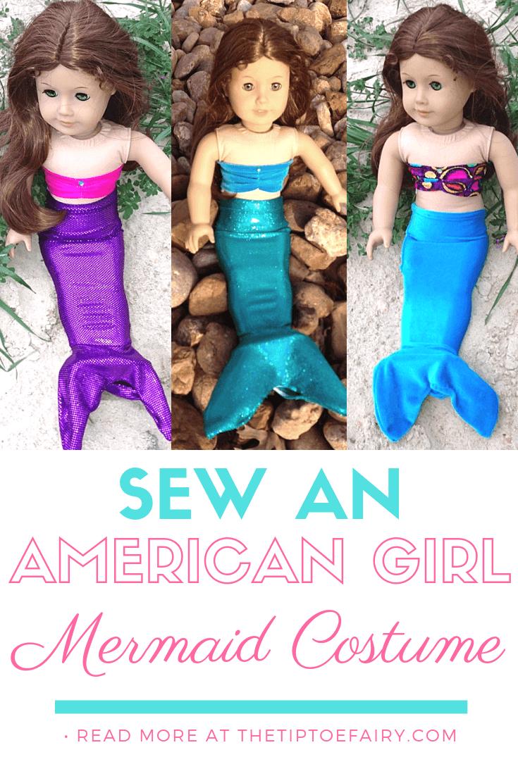 Sew an American Girl Mermaid Outfit | The TipToe Fairy