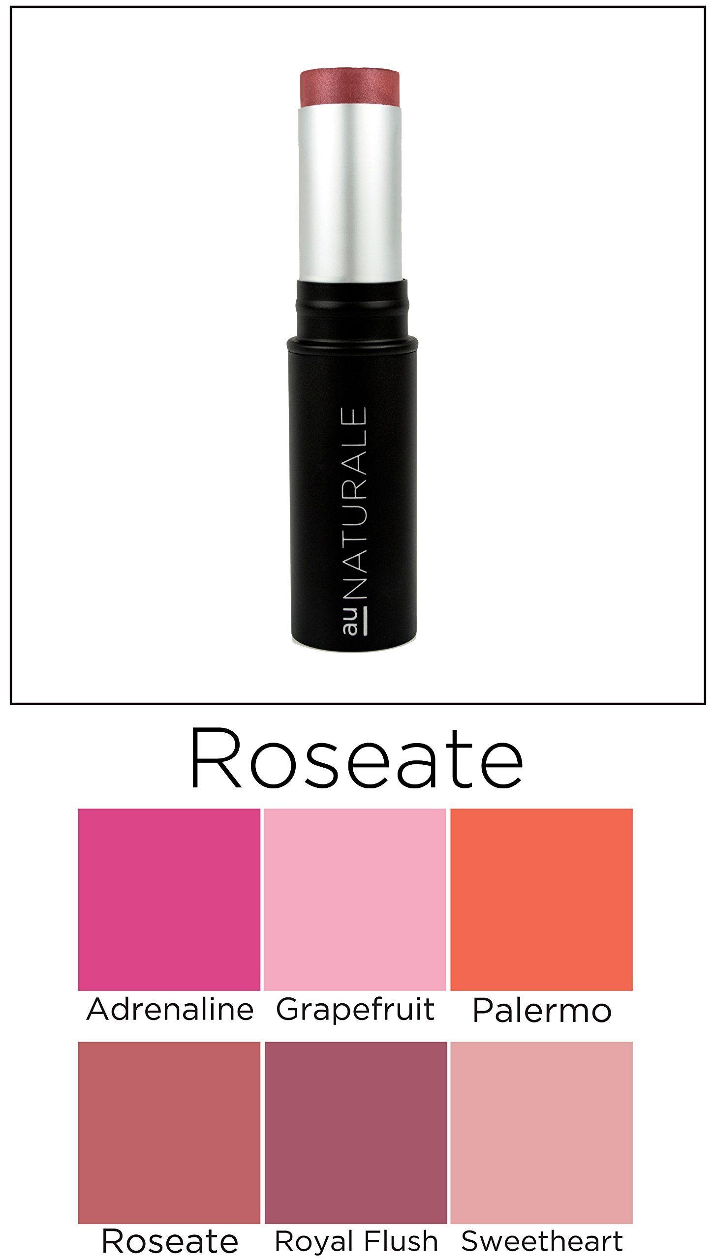 Au Naturale Anywhere Creme Blush Stick in Roseate Vegan