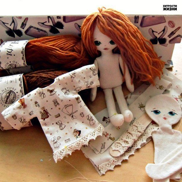 Куклы своими руками. Фото мастер-класса