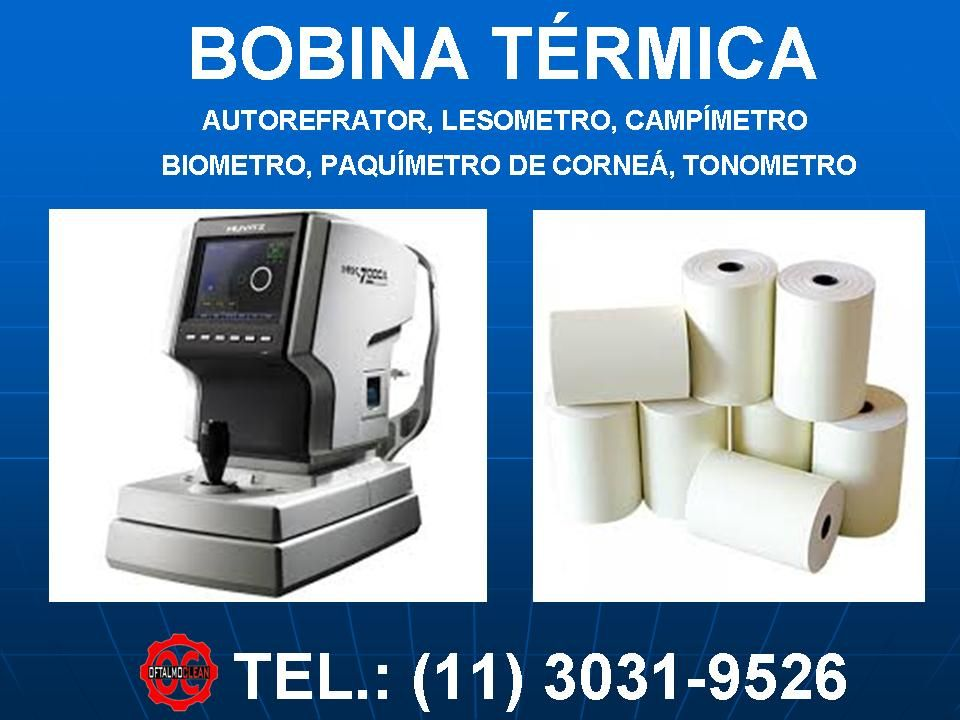 Bobina Termica Para Auto Refrator Campimetro Lensometro Tonometro Biometro Paquimetro De Cornea Bobina Termica Para Auto Termica Bobina Luz Ultravioleta